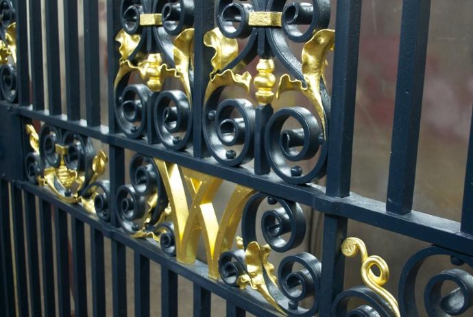 Gold Leaf Gilded Gates